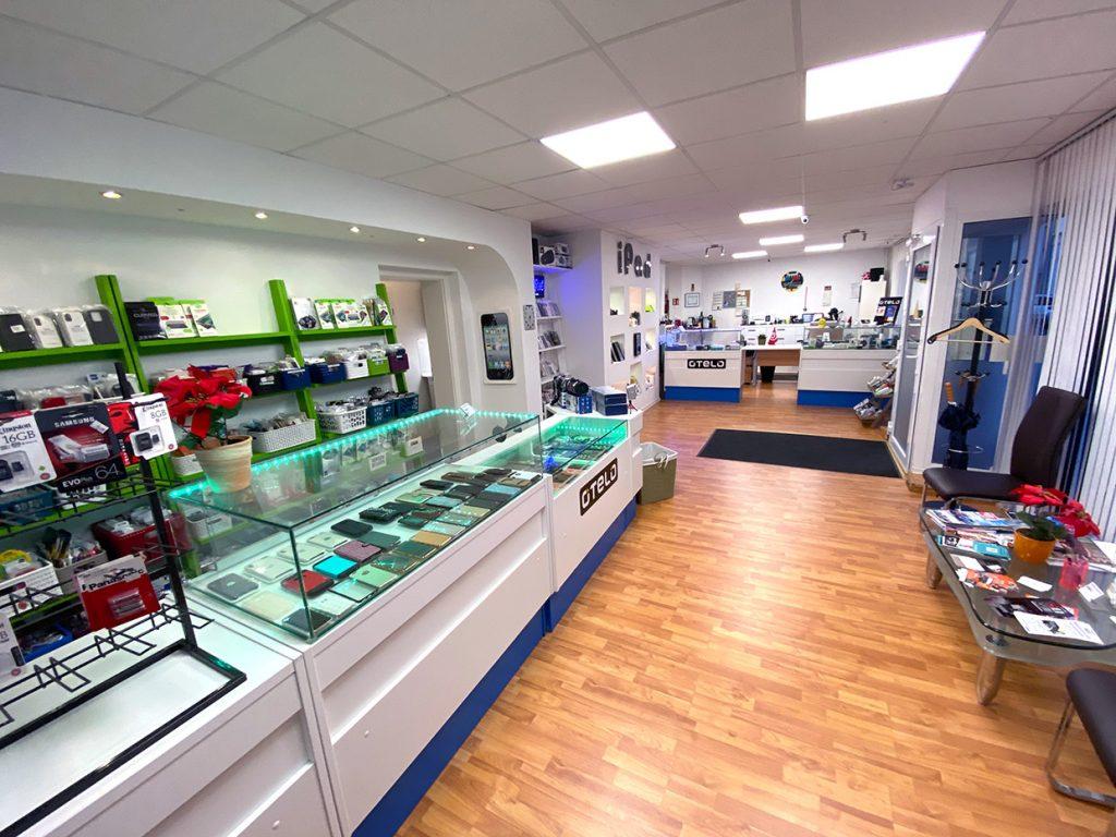 Abbildung Gazzah Elektronik Ladenlokal